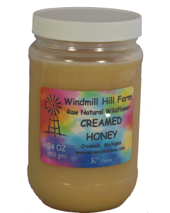 22 oz PET Jar Creamed Honey