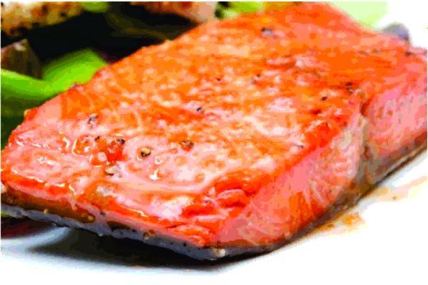 Honey and Soy Glazed Salmon